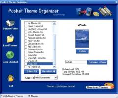 Pocket Theme Organizer