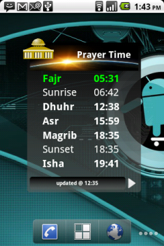 Free Samsung GT-S5570 Galaxy Mini Prayer Time (Adhan