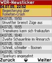 Radio Text Mobile