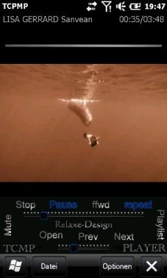 RelaxeSensor-Black Skin for TCPMP