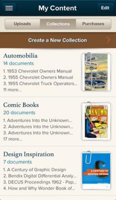 Scribd for iPhone/iPad