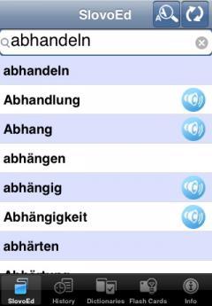 SlovoEd Compact German-Italian & Italian-German Dictionary (iPhone/iPad)