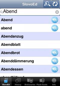 SlovoEd Deluxe German-Italian & Italian-German Dictionary (iPhone/iPad)