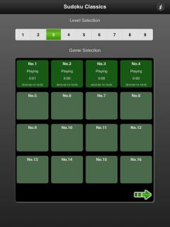 Sudoku Classics (iPad)