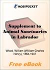 Supplement to Animal Sanctuaries in Labrador for MobiPocket Reader