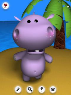 Talking Baby Hippo for iPad