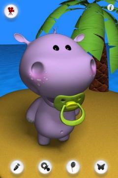 Talking Baby Hippo