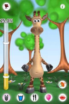 Talking Gina the Giraffe Free for Android