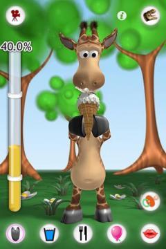 Talking Gina the Giraffe