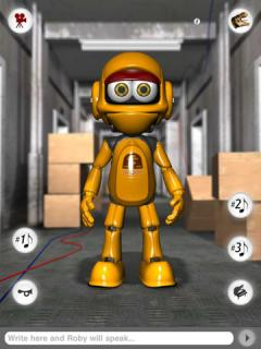Talking Roby the Robot for iPad