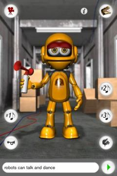 Talking Roby the Robot for iPhone