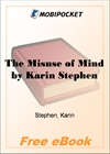 The Misuse of Mind for MobiPocket Reader