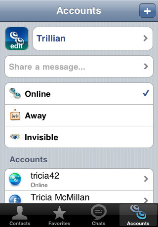 Buy Apple iPhone OS Trillian (iPhone) Application