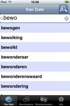 Van Dale Dutch Explanatory Dictionary (iPhone/iPad)