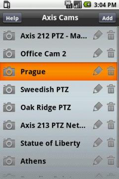 Viewer for Axis Cams for Android