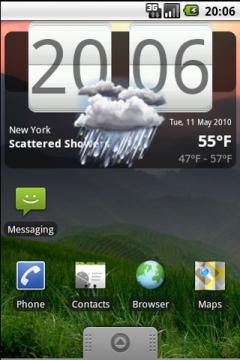 WF Clock Widget