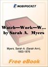 Watch-Work-Wait for MobiPocket Reader
