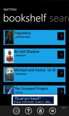 Wattpad (Windows Phone)