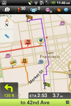Free Android Waze Software Download in Travel & Navigation Tag