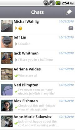 WhatsApp Messenger (Android)