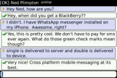 Free RIM BlackBerry Curve 9320 WhatsApp Messenger