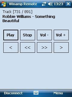 Winamp Remote