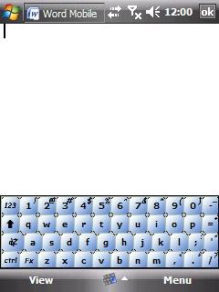 WindowsMobile Skin for Resco Keyboard Pro