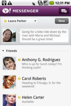 Yahoo! Messenger for Android