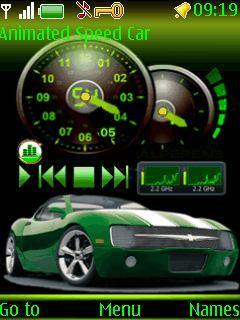 Free Nokia 2700 Animated Speed Car Software Download