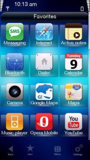 Free Nokia 5230 / 5232 / 5233 Nuron Apple Blue Software