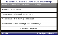 BIBLE VERSES  TALKING ABOUT MONEY