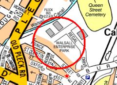 A-Z Birmingham Street Map for S60 1060