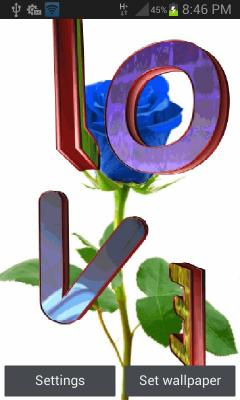 Free THL W200 / W200s Blue Rose Love LWP Software Download