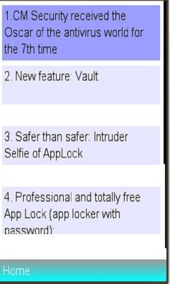 Free Nokia Asha 305 / 306 CM Security Antivirus /cleaner