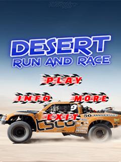 Desert Run And Race