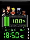 Digital battery clock