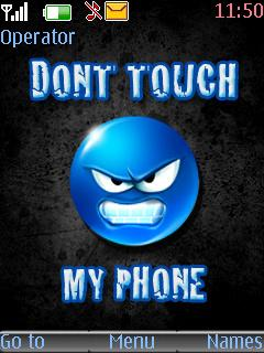 Free Java Dont Touch My Phone Software Download In Themes