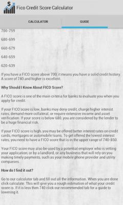Fico Credit Score Calculator