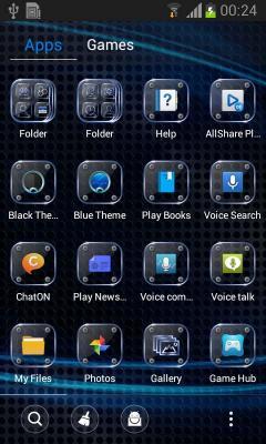 Free Lenovo A2800-d Dual SIM TD-LTE Go Launcher Black Theme
