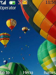 Free Nokia 7230 Hot Air Balloons Software Download In Themes
