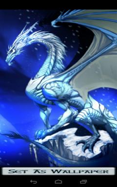 Ice Dragon Wallpaper