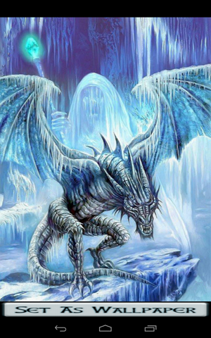 free ice dragon wallpaper software download