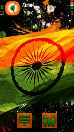 Free Nokia 5230 / 5232 / 5233 Nuron Indian Flag Software