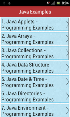 Free Android Java Examples Software Download in Programming