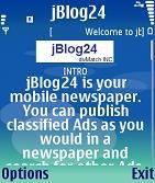 jBlog24 PRO (J2ME/JSR-82 bluetooth-Nokia,SonyEricsson,Motorolla)