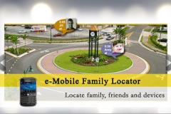 e-Mobile family locator