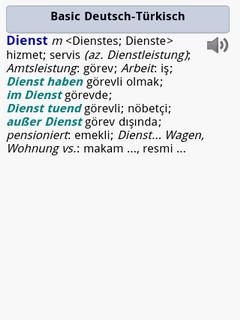 Langenscheidt Basic-Worterbuch Turkisch for Android