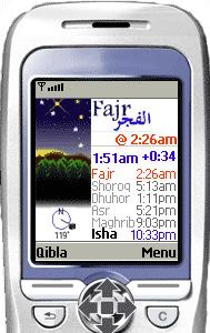 Prayer Times for Mobiles