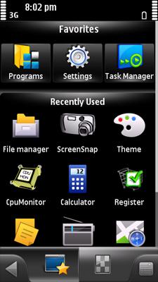 Free Nokia 5230 / 5232 / 5233 Nuron SPB Mobile Shell Symbian