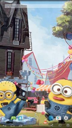 Free Android Little Minions Live Wallpaper Software Download